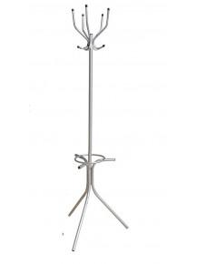 Вешалка напольная, Ø28мм, разборная с подставкой д/зонтов, 5 крючков