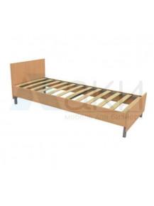 Кровать  ЛДСП  с прямой спинкой  (высота 700мм)