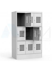 Шкаф 9 ячеечный ШМС 33-30